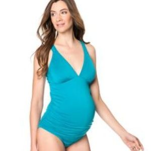 A Pea in the Pod Side Ruched Tankini